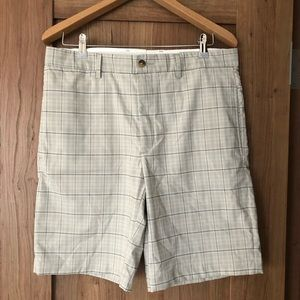 Greg Norman Plaid Shorts